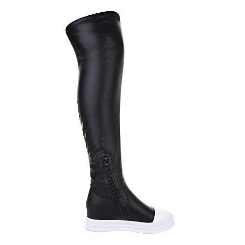 Mujer botas negro Ital Design clásicas qApq6wxt5