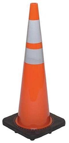 JBC Revolution Series Traffic Cone - Orange, With 3M Reflective Collar, 36in.