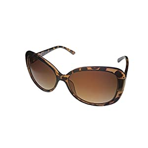 Kenneth Cole Reaction Dark Tortoise Rectangle Plastic Sunglass KC1251 56F
