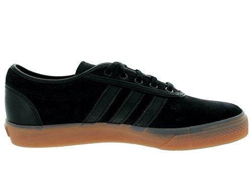 Adidas Adi-facilidad de zapatos del patín, Negro / negro / color escarlata, 4 M con nosotros CBLK-BOONIX-GUM4