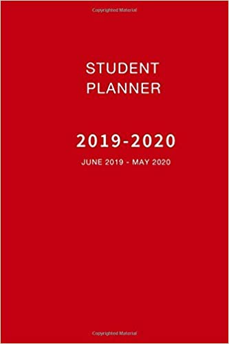 photo about May Books Planner named Pupil Planner 2019-2020 June 2019 - Could 2020: Weekly and