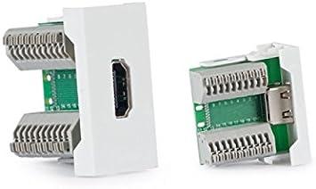MODULO HDMI H PARA CAJAS DE CONEXION FONESTAR WP-46H 1/2xPANEL: Amazon.es: Electrónica