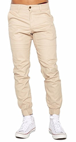 Mens Joggers twill pants Heft Signature Urban Brand Made in USA