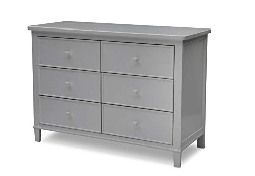 Delta Children Haven 6 Drawer Dresser, Grey ()