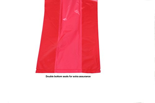 Picture of 120 Red Easy Open & Strong Leak- Proof Poop Bags Dog Waste Bags 13.25 x 9