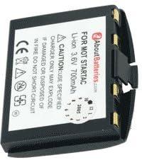 Batería por MOTOROLA STARTAC 130, 3.7V, 1150mAh, Li-ion: Amazon.es: Electrónica