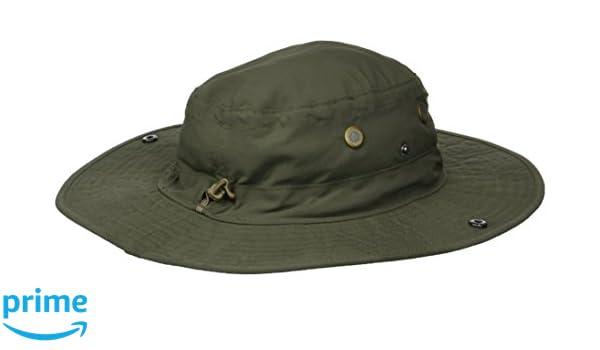 c3f7e005e51249 Amazon.com : White Sierra Bug Free Brim Hat, Dark Olive, X-Small/Small :  Sports & Outdoors