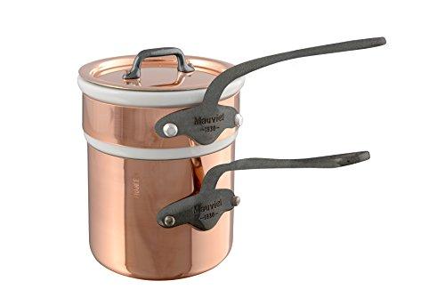Mauviel M'150C2 0.9 Qt. Bain Marie, Bronze (Copper Bain Marie)
