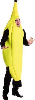 Rasta Imposta Banana Deluxe Adult, Yellow, One Size
