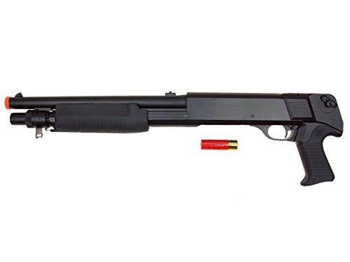 DE Model-799S Tri-Burst Shot Gun w/Pistol Grip&Shell Holster by DE/CSI (Image #2)