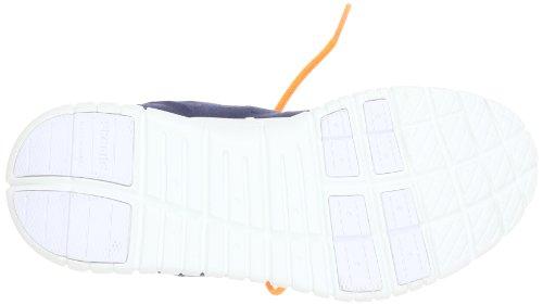 Chung Shi Dux Libero Trainer Scarpe Unisex Sala-adulto Blu (navy / Arancio)