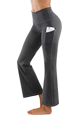 Fengbay Bootcut Yoga Pants, Women's Bootleg Yoga Pants with Pockets Tummy Control 4 Way Stretch Plus Size Yoga Pants Workout Pants (Best Of Yoga Pants)