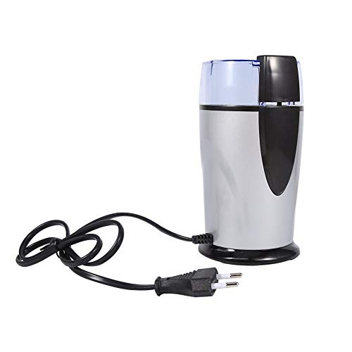 Coffee Grinder Household Grains Bean Grinding Machine 220V-240V 50/60Hz 100W EU Plug Stainless Steel blade ()