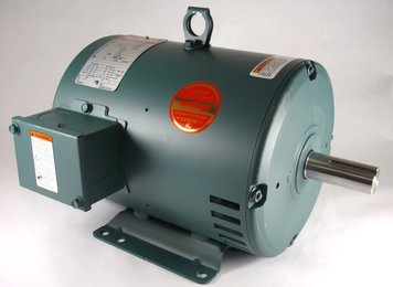 5hp 1760RPM 184T Frame 208-230/460 Volts Open Drip Leeson...