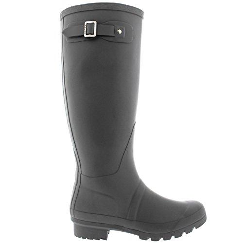 Womens Original Boots GRE37 Waterproof Wellies Wellington 6 Winter BL0030 Tall Snow Rain wpqxwHr