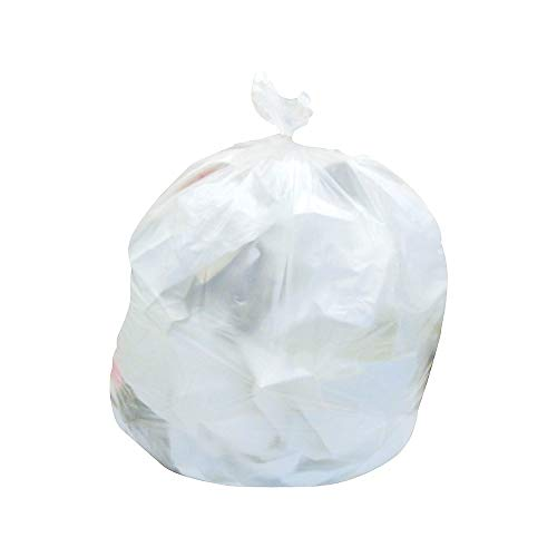 Brighton 814898 Trash Bags 20-30 Gal 30X37 High Density 12 Mic Natural 20 - Liner 12 Mic