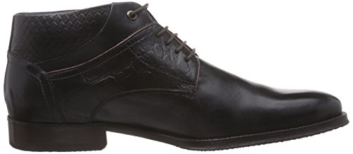 Daniel Hechter HB5724PR1, Chukka botas para hombre negro - negro