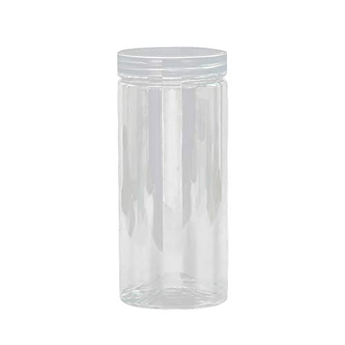 Kitchen Storage Box,Clear Sealing Food Candy Preservation Plastic Fresh Pot Container (D)