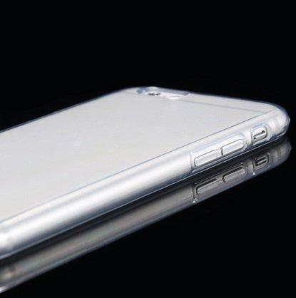 """2 x itronik ultra dünne Schutzhülle iPhone 6 (4,7"""") Hülle 0,3mm in schwarz und weiß transparent"""
