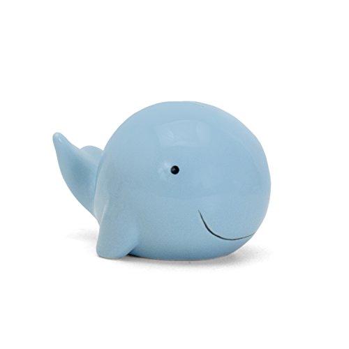 Child to Cherish Ceramic Whale Piggy Bank for Boys, ()