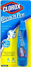 Price comparison product image Clorox CLO 04690 No-Splash Dual-Tip Bleach Pen