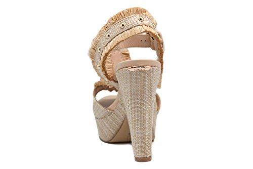Alto Liu Pietre MARABU Wedge S18079T7034 Sandali Jo Tacco Donna e Raffia Sandal Scarpe Naturale 6Rax6wrz