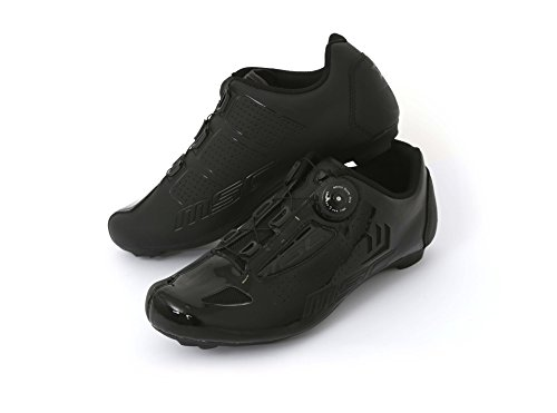 MSC Bikes Aero Road Cycling Shoes, Black, T-42