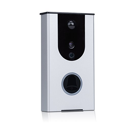 Wireless Video Doorbell,Warzne HD Smart Doorbell with WIFI APP Remote Monitoring two-way Intercom for Home Safe Use. by Warzne