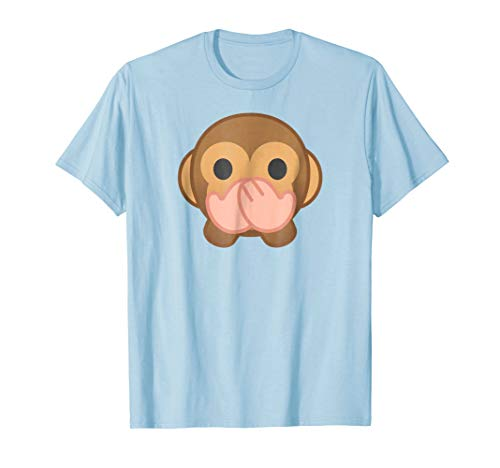 Speak No Evil Monkey T-shirt funny Monkey shirt