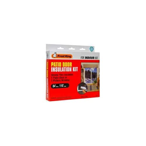 Durable Service Frost King Shrink Film Window Insulation Kit For Patio Door  Or Picture Windows