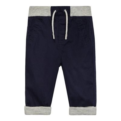 bluezoo Kids Baby Boys' Navy Trousers