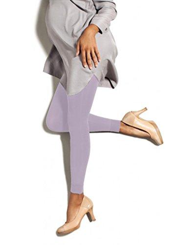 (Preggers Maternity Footless Tights - 10-15 mmHg Gradient Compression Hoisery (Iris, Tall))