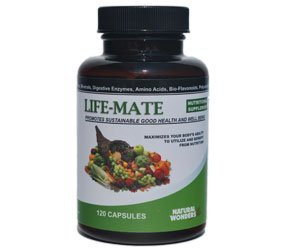 New - Life Mate 120 Capsules Natural Wonders