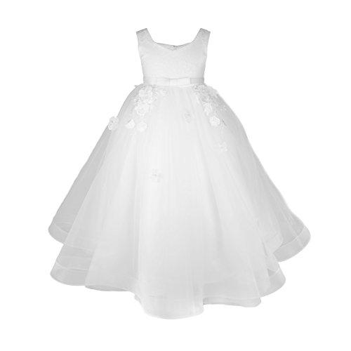Zipper Satin Wedding Dress - 7