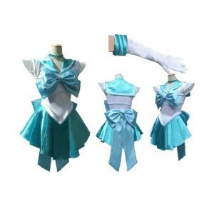 traje cosplay de los hombres M Sailor Moon Sailor Mercury ...
