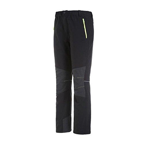 Skid Di Salita Fym Addensato Nero Giacche Resistenza Dyf Solido Dei Pantaloni Colore Sciare Peluche nIgzqPB