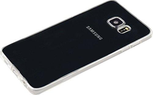 Coque en silicone invisible pour Samsung Galaxy S6 Edge Plus 1,2mm, Transparent
