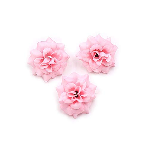Artificial Flowers Fake Flowers Heads Mini Silk Rose Wedding Home Decorative DIY Party Festival Home Decor Wallet Gift Cut & Clip Simulation Cheap Fake Flower 30pcs 4.5cm ()