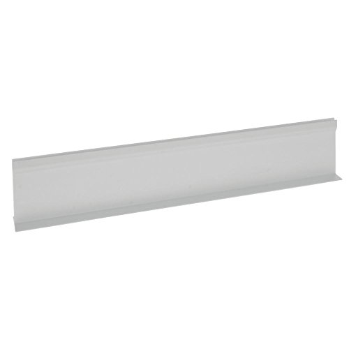 "Divider for Parsley Runner with Aluminum Support White Plastic""T"" Shape - 18""L x 3 1/2""H"