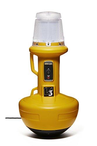 Wobble Light 111303LED Wobblelight V3 200w Patented Self-Righting LED Work Light, - Patented Led