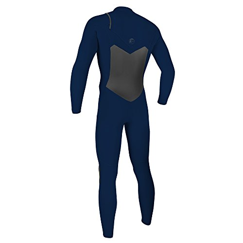 O'Neill Men's O'Riginal 4/3mm Chest Zip Full Wetsuit, Abyss/Abyss, X-Small by O'Neill Wetsuits (Image #1)