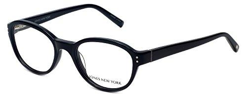 Jones New York Womens Lightweight & Comfortable Designer Reading Glasses J752 in Black - Glasses York Jones New