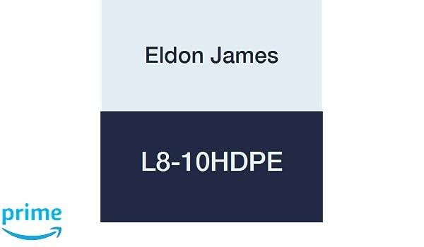 Eldon James L8-10HDPE High Density Polyethylene Threaded Elbow Pack of 10 1//2-14 NPT Thread to 5//8 Barb