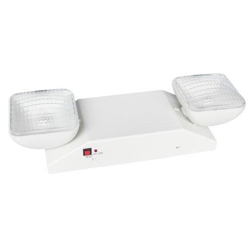 Elco Lighting EE20L Emergency Light with Two Adjustable 5.6 Watt Lighting Heads