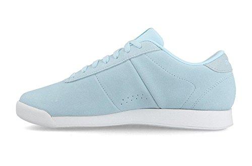 Reebok Women's Princess Lthr Competition Running Shoes Blue (Pb-dreamy Blue/White 0) qbjGy7RQ