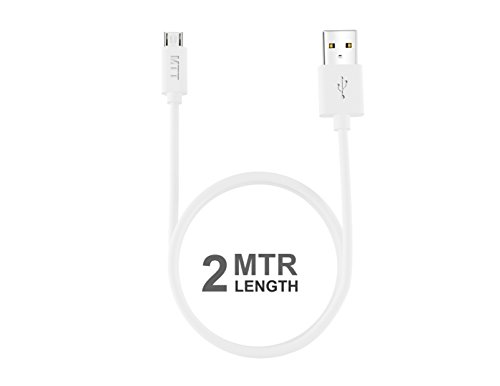 2M Micro White cable by MTT