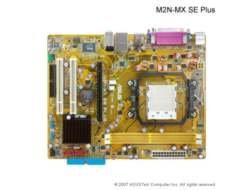 - ASUS M2N-MX SE Plus AM2 Nvidia 6100 DDR2-800 Nvidia 6100 IGP ATX Motherboard
