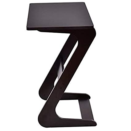 Casart Sofa Table Z Style Portable Home Laptop Writing Wokstation Tv Snack End Side Table Laptop Desk Coffee End Table Bed Side Snack Table 1