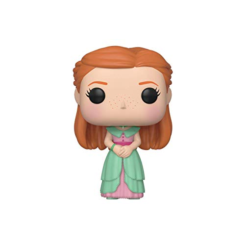 Funko Pop! Figura de Vinilo Harry Potter S7 - Ginny (Yule), Multicolor, Estandar