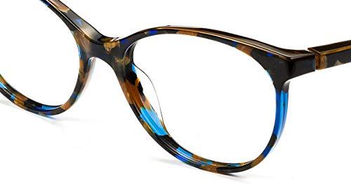 Large Donna Blu Montatura Blau Etnia Barcelona Stil Marmor Braun Pq1gR